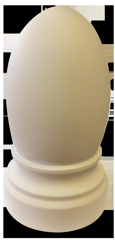 oval cap